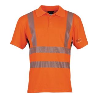 Warnschutzpoloshirt Prevent® Trendline leuchtorange PREVENT TRENDLINE orange