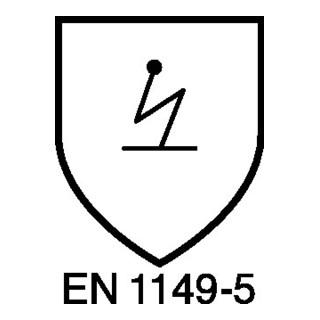 Warnschutzsoftshelljacke Multinorm Gr.XL gelb/marineblau
