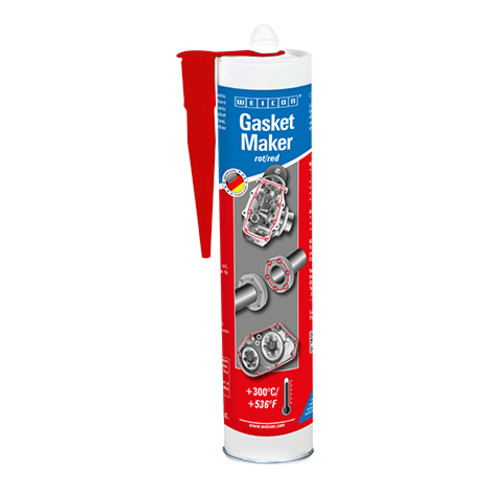 WEICON Spezial-Dichtstoff Gasket Maker 310 ml rot