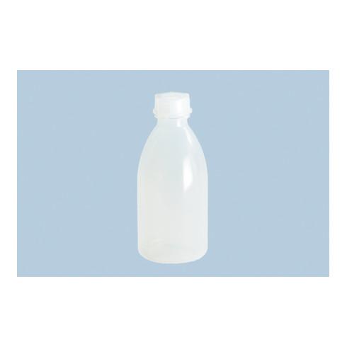 Weithalsflasche H.177mm D.75mm PE (LDPE) natur Einfüllöffnung-D.19mm Inh.500ml