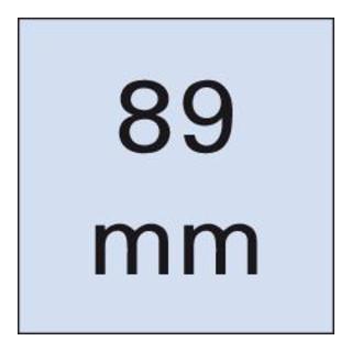 Wera 800/4 Z Schlitz-Bits, 8,0 x 1,2 mm, Länge 89 mm