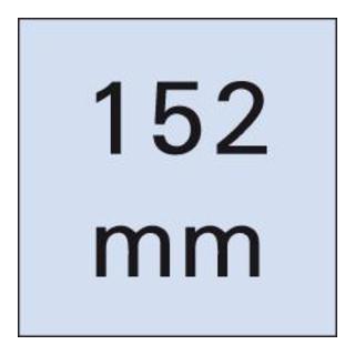 Wera 851/4 Z Phillips-Bits, PH 1, Länge 152 mm
