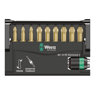 Wera 8655-9/TH Bit-Check – Rapidaptor