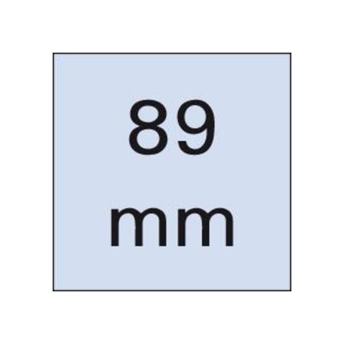 Wera 867/4 Z TORX® BO Bits mit Bohrung, TX 25, Länge 89 mm