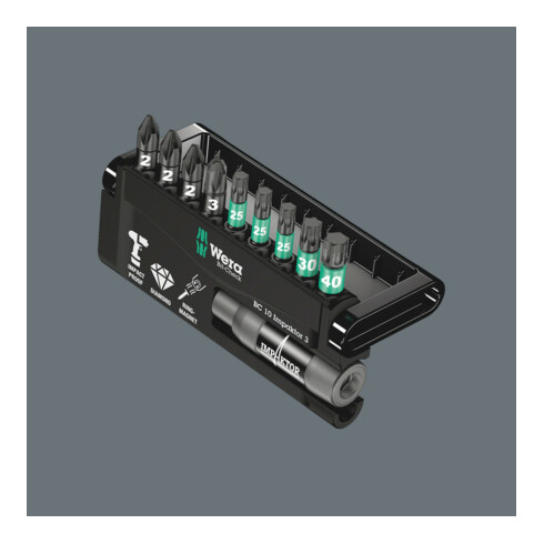 Wera 8755/67-9/IMP DC Impaktor Bit-Check