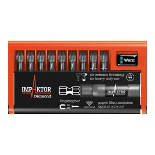 Wera 8755-9/IMP DC Impaktor Bit-Check, 1 Impaktor-Halter mit 9 Impaktor-Bits