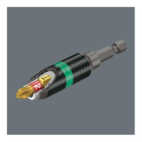 Wera 897/4 R Universalhalter Rapidaptor BiTorsion