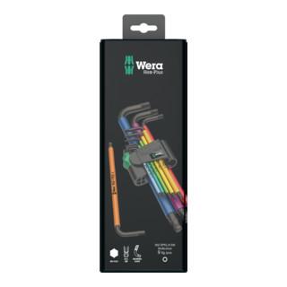 Wera 950/9 Hex-Plus Multicolour 1 Winkelschlüsselsatz, metrisch, BlackLaser, 9-teilig