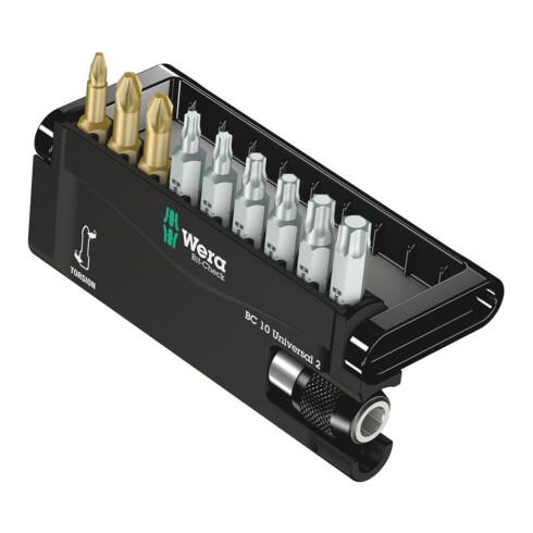 Wera Bit-Sortiment 8155/67-9 Bit-Check, 1 Universalhalter mit 9 Bits