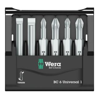 Wera Bit-Sortiment, Mini-Check, 50 mm