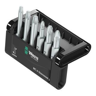 Wera Bit-Sortiment, Mini-Check Phillips, Pozidriv, TORX®, 50 mm