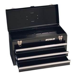Werkzeugkoffer 1 Fach mit Trageeinsatz aus Stahlblech L.508 T.230 H.305 mm