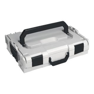 Werkzeugkoffer Innen-M. B.378xT.313xH71mm Farbe grau,weiß,schwarz L-BOXX 102 FG