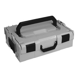 Werkzeugkoffer InnenM.B.378xT.311xH107mm Farbe grau,weiß,schwarz L-BOXX 136 FG