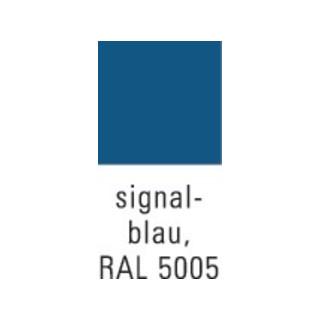 Werkzeugschrankset H1310xB500xT500mm 1 Schublade/2Böden lichtgrau/signalblau