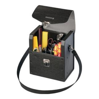 Werkzeugtasche B.235mm T.160mm H.278mm Industrieleder schw. Volumen ca.10l PARAT