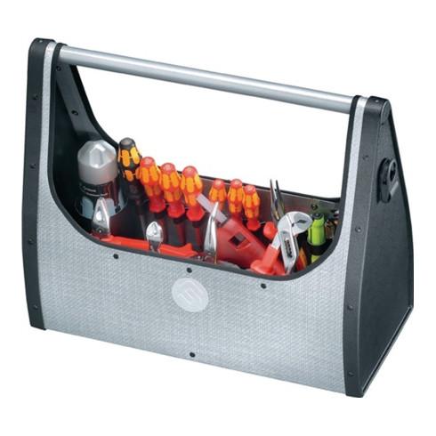 Werkzeugtasche B.495xT.210xH.395mm PARACURV m.Tragest.silber a.CURV ABS-Ku.PARAT