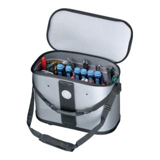 Werkzeugtasche B.500xT.255xH.360mm m.herausnehmb. Mittelw.1xCP-7+1xStechb.Halter