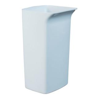 Wertstoffsammler 40l weiß Kunststoff H590xB320xT360mm