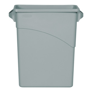 Wertstoffsammler 60l Kunststoff grau H630xB280xT590mm