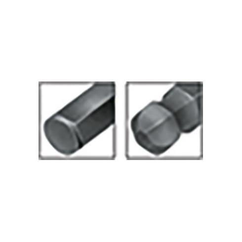 Wiha 369R Magic-Ring Sechskant-Kugelkopf Stiftschlüssel, lang