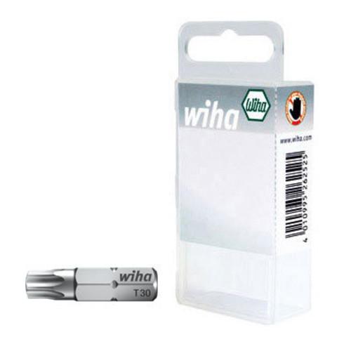 """Wiha Bit Set Standard 25 mm TORX® 10-tlg. 1/4"""" T10 in Box"""
