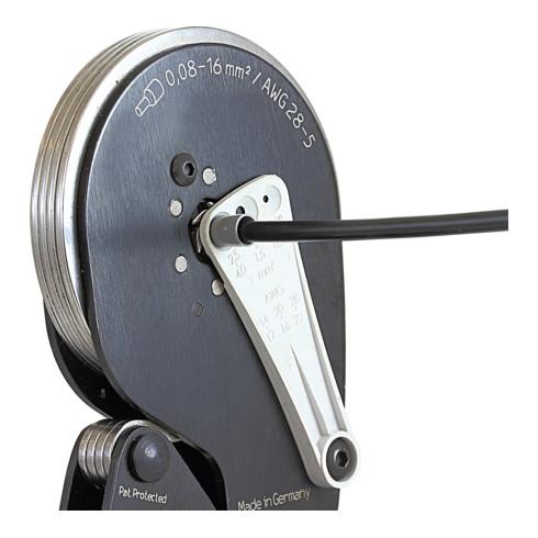Wiha Crimpwerkzeug automatisch für Aderendhülsen Sechskant-Pressung 210 mm