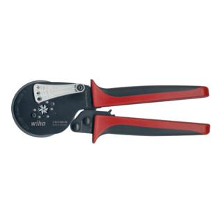 Wiha Crimpwerkzeug automatisch für Aderendhülsen Sechskant-Pressung (41246) 210 mm