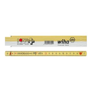 Wiha Longlife® Plus Gliedermaßstab, 2 m - 10 Glieder (410 2001)