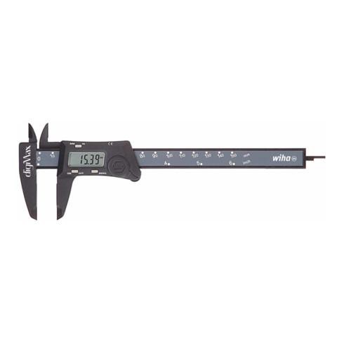 Wiha Messschieber digiMax® digital Ablesung 0,01 mm 150 mm