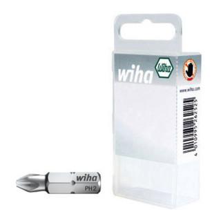 Wiha Phillips-Bit 25 mm in Kunststoffbox (7011 Z) 10-tlg. PH2 Profil reduziert
