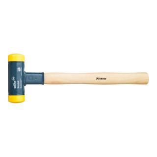 Wiha Rückschlagfreier Schonhammer mit Hickory-Holzstiel (800) Ø-Schlagkopf 30mm