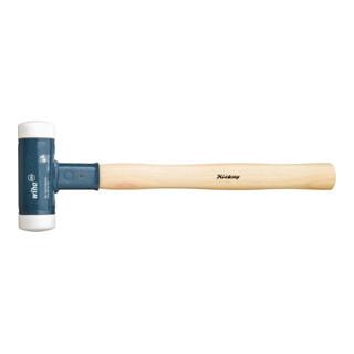Wiha Rückschlagfreier Schonhammer mit Hickory-Holzstiel (8001) Ø-Schlagkopf 40mm