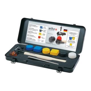 Wiha Safety-Schonhammer-Set mit gemischten Schlagköpfen 8-tlg. in Box