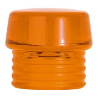Wiha Schlagkopf orange transparent Safety Schonhammer (831-8) Ø-Schlagkopf 40mm