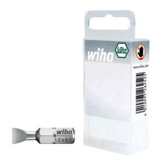 Wiha Schlitz-Bit 25 mm in Kunststoffbox (7010 Z) 2-teilig (4,5x25mm/5,5x25mm)