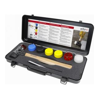 Wiha Schonhammer-Set Safety mit gemischten Schlagköpfen, in Box, 8-teilig