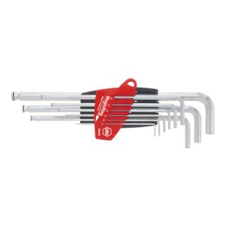 Wiha Sechskant-Kugelkopf Stiftschlüsselsatz im ProStar Halter (SB 369R S9)