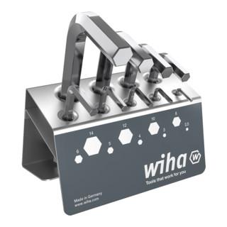 Wiha Sechskant-Stiftschlüsselsatz im Werkbankständer (351 VB)