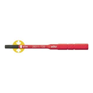 Wiha SoftFinish® electric slimBit Torx® (2831-15) T8 75 mm 6,0 mm