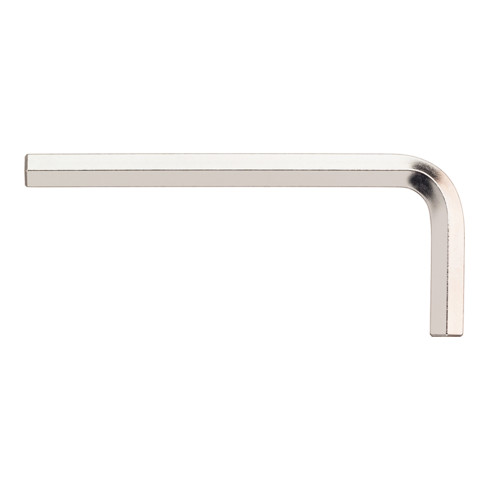 Wiha Stiftschlüssel Sechskant kurz, glanzvernickelt 129 mm, 53 mm