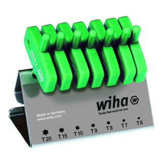 Wiha Torx®-Schraubendrehersatz mit Schlüsselgriff (365 VB)
