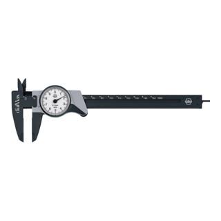 Wiha Uhrmessschieber dialMax® Ablesung 0,1 mm (411 210 2) 150 mm
