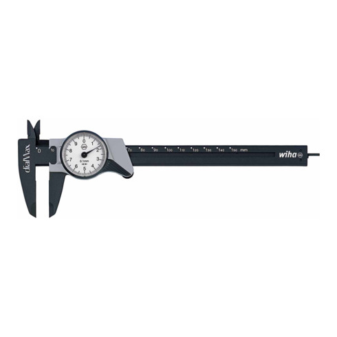 Wiha Uhrmessschieber dialMax® Ablesung 0,1 mm 150 mm