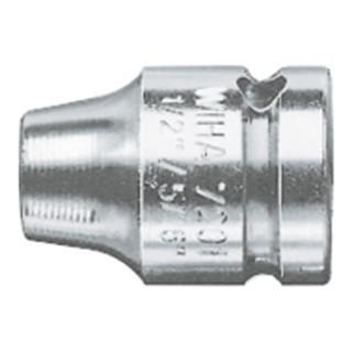 Wiha Verbindungsteil mit Sprengring, Form G 6,3 + G 10 + G 12,5 (7201) 1/4 mm, 1/4 mm