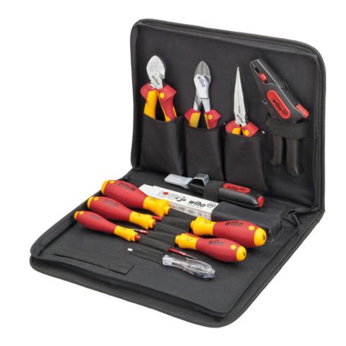 Wiha Werkzeug Set Elektriker gemischt 12-tlg. in Tasche