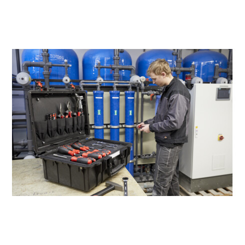 Wiha Werkzeugkoffer Basic Set L mechanic 40-tlg.