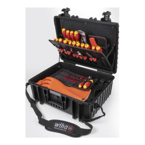 Wiha Werkzeugkoffer Set XL eMobility 77-tlg. (44198)