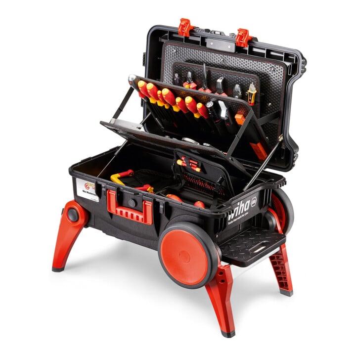 Wiha Werkzeugkoffer Set XXL III electric 100-tlg.