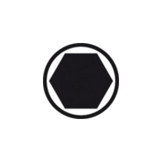 Wiha Zot-Torsions-Bit Torx® Form C 6,3 (7015 Zot) T20 Länge 25 mm